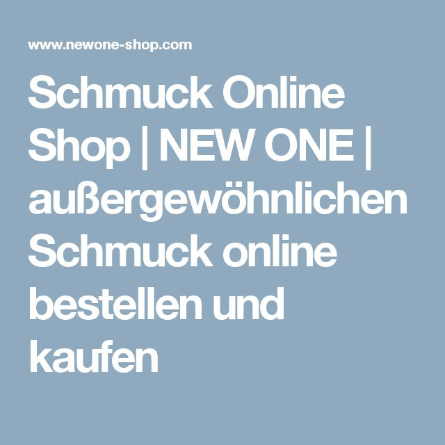 Schmuck online bestellen  Best 25+ Schmuck online shop ideas only on Pinterest | Six schmuck ...