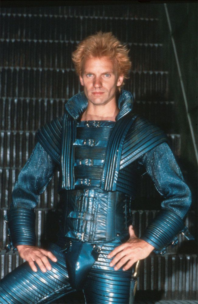 Sting in Dune. I only went to see this movie because he was in it! @pdale