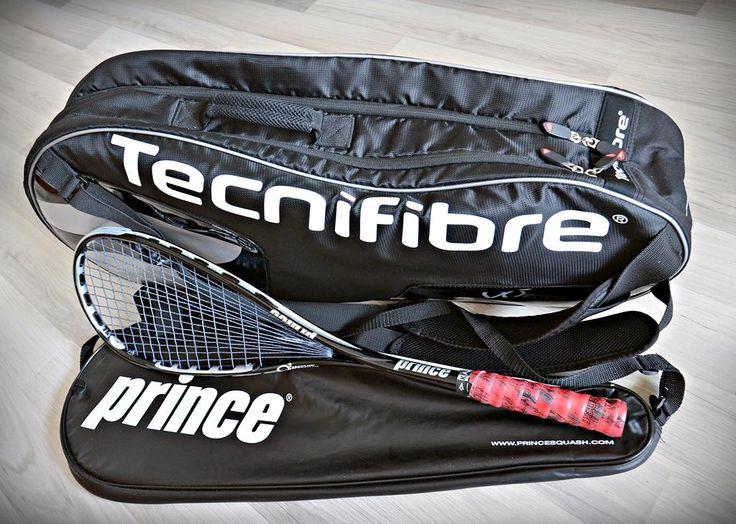 Prince O3 Speedport Black   Tecnifibre Tour 6R VO2