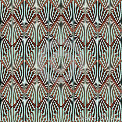 Art Deco pattern by Odze, via Dreamstime