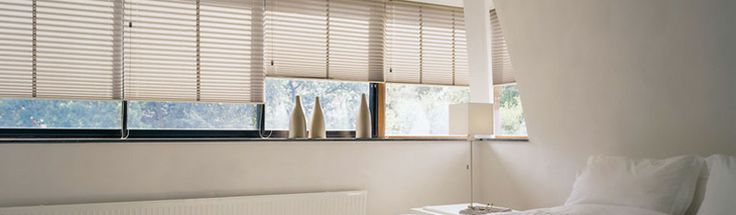 Pleated Blinds by Verosol allow you to control the ambiance of any room with ease!