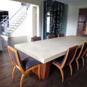 30 Best Custom Concrete Kitchen & Dining Tables  Trueform Entrancing Kitchen And Dining Room Tables Decorating Inspiration