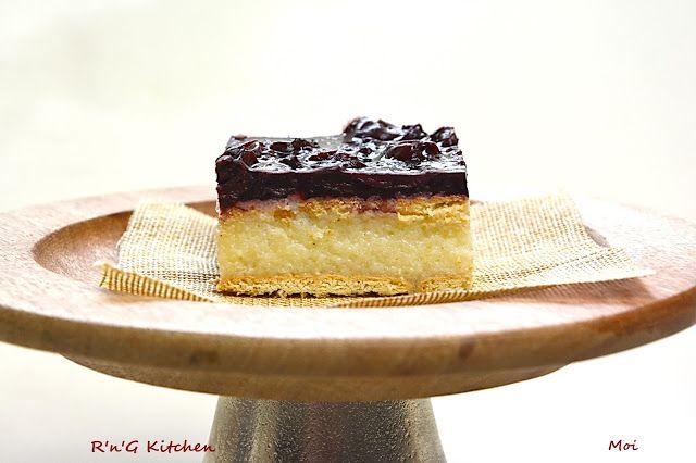 R'n'G Kitchen: Ciasto z kaszy manny (bez pieczenia)