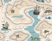 Pirate Map - Riley Blake Designs