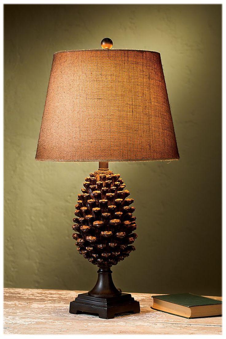 Bob Timberlake Pinecone Table Lamp