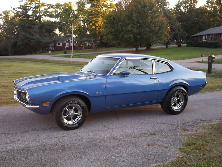 1972 Ford Maverick 302ci...just like my first car. Paid $600 in 1983!