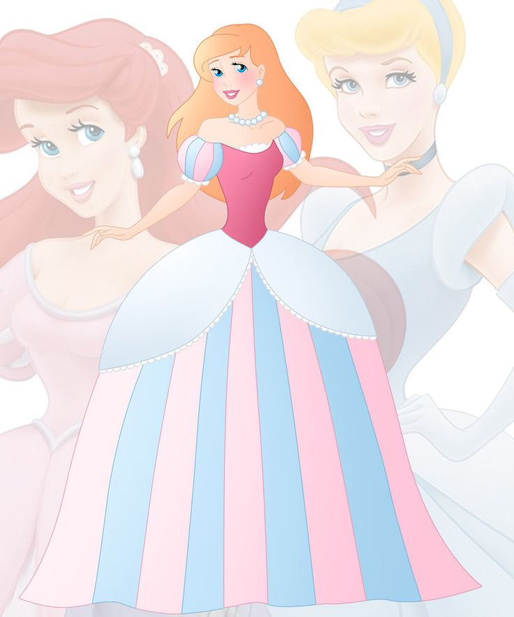 A new series in which I mix 2 disney princesses into 1 This is a mix of Ariel and Cinderella
