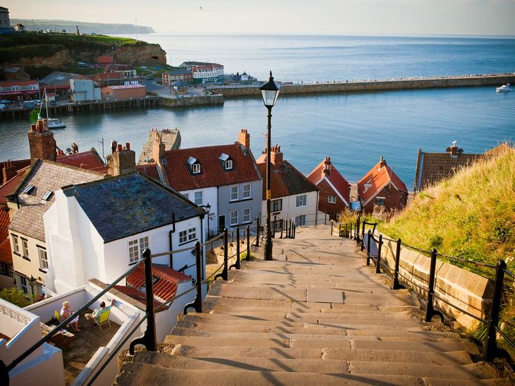A picturesque Middle Ages fishing port on the wild heritage coastline of east Yorkshire (don't miss a visit to the spooky ruins of Whitby Abbey at East Cliff),…