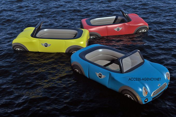 Mini floaties for the summer! Brilliant marketing idea