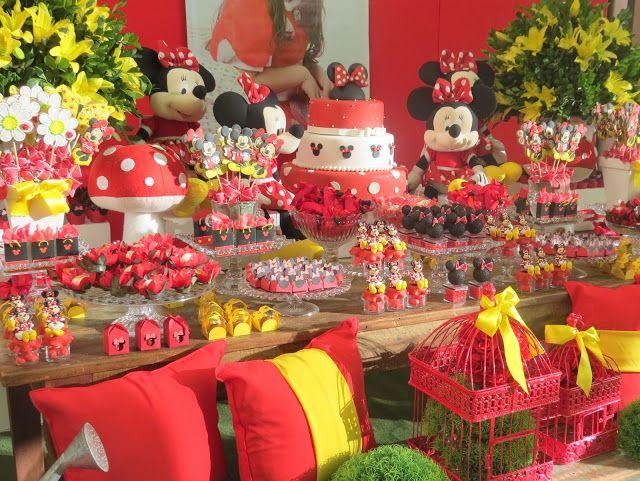 Festa Provençal - Site Oficial: Minnie vermelha