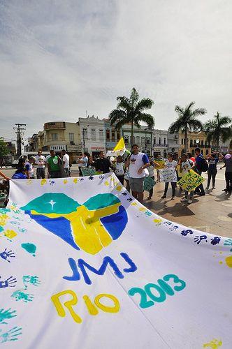 atividades rumo a JMJ RIO 2013