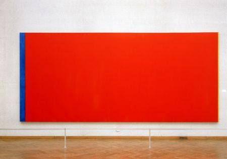 ROOD: Welk ander kunstwerk straalt er zó de kleur rood uit als 'Who's afraid of red, yellow and blue' van Barnett Newman. Het werk werd in het Stedelijk Museum Amsterdam werd vernield in 1986 en daarna gerestaureerd. Men kreeg al snel vermoedens dat de restauratie vreselijk slecht was uitgevoerd. Recent werd dan eindelijk een onderzoeksrapport gepubliceerd. De restaurator was had inderdaad een verfroller gebruikt. Barnet Newmann, Who's afraid of red, yellow and blue III, 1960