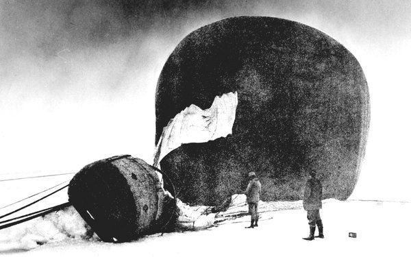 The Ice Balloon - S. A. Andrée and the Heroic Age of Arctic Exploration - By Alec Wilkinson - Book Review - NYTimes.com