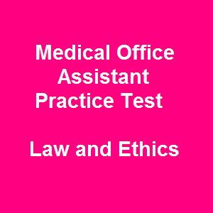 Various jobs on medical assisting are now available but highly competitive in the healthcare industry. So, many medical assistants desire to become qualified to get the highest professional standard compared to their competitors. For earning a license in a short, we recommend 41 Medical Office Assistant Certification Practice Test Questions on Law and Ethics as one of the most common free NCCT practice test for medical office assistant