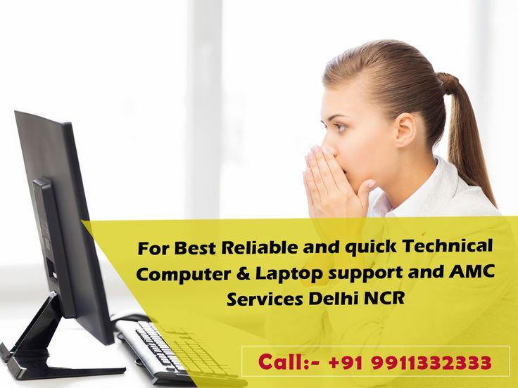 Staying in Delhi NCR and need laptop & Desktop repair services??? Then contact www.computeramcservices.in/ tech support executives as we offer the most affordable and quality laptop support services in noida. # Call:- +91 9911332333