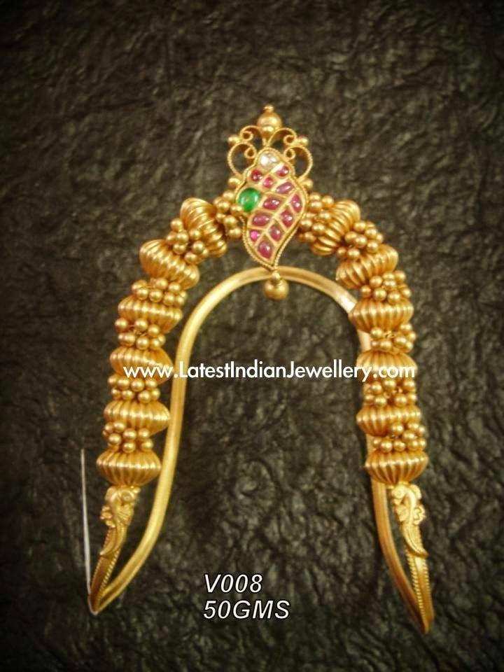 Temple Design Gold Ara Vanki