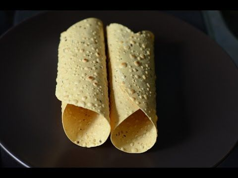 How to roll papad.