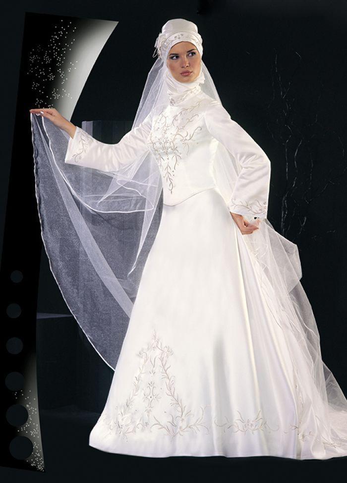 Muslim Wedding Dress Code For Bride : Hijab wedding dresses attire g
