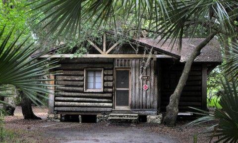 Myakka river state park historic palm cabin sarasota for Florida state parks cabins