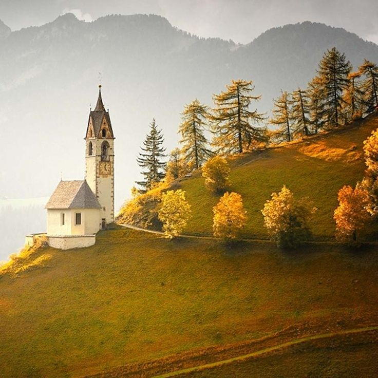 Happy first day of autumn, autumn in italy   Autumn in Dolomites   Italy   Beautiful places