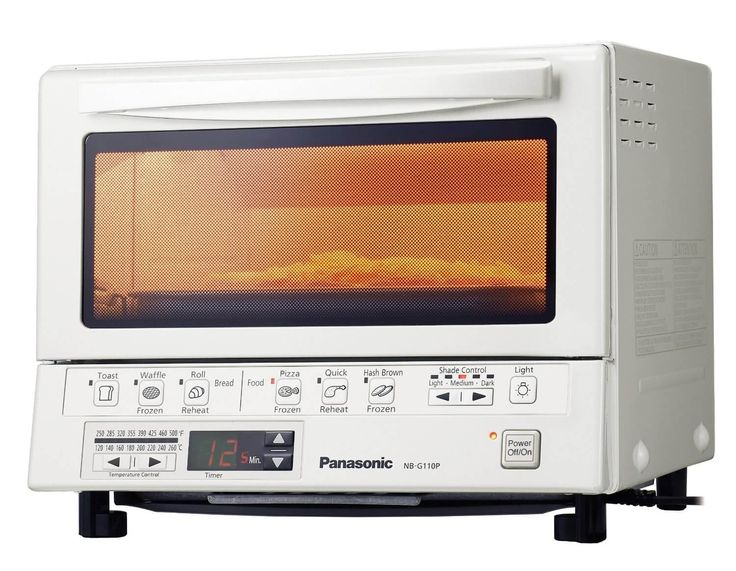 Panasonicprovided product for review and giveaway. Panasonic NB-G110PW FlashXpress Toaster Oven Review Our summer has been a happy summer of perfect toast. We've been testing out the new Panasonic Toaster Oven for the past week…