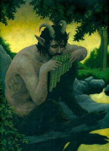 114 best Satyrs, Fauns, and other Horned Creatures images ...