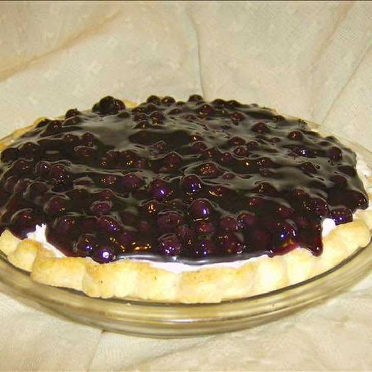 The Lady & Sons Blueberry Cream Pie ( Paula Deen ) Recipe