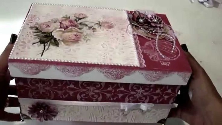 Video-Aula: Caixa com Papel Textura | Livia Fiorelli | LifeArtesanato