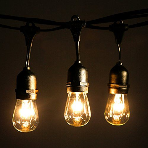 20 best vintage lights string images on pinterest light chain outdoor string lights with 24 dropped sockets 26 bulbs included weatherproof commercial grade string mozeypictures Choice Image
