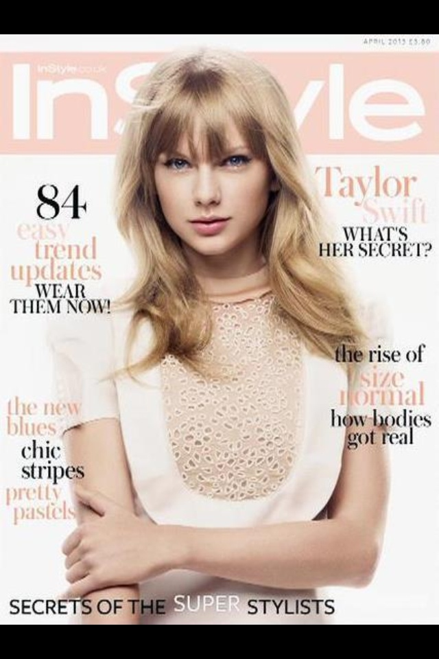 InStyle Magazine Cover for April