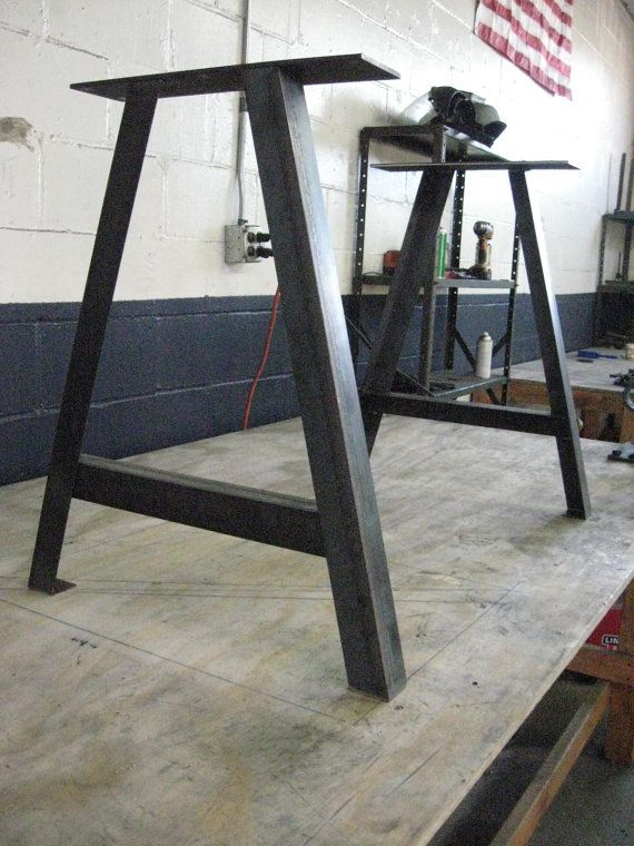 A Frame Table Legs - Adjustable Leveling Feet