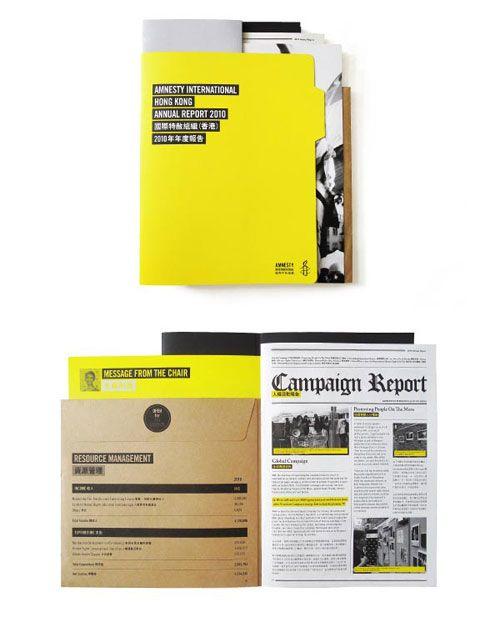 20 Annual Report Designs Inspiration Design Inspiration PSD