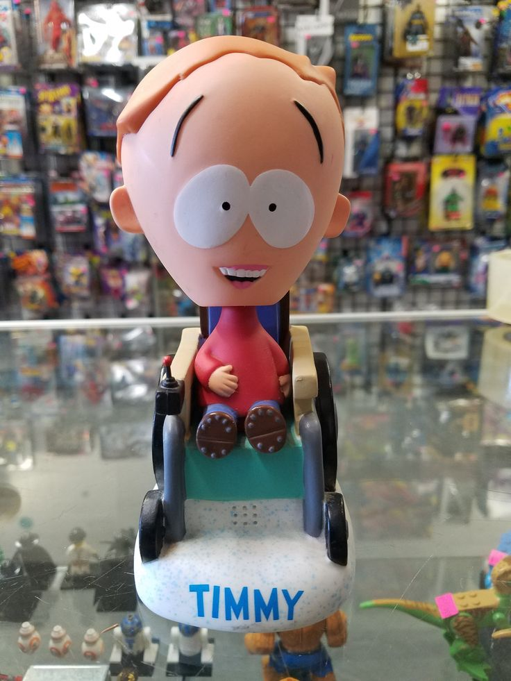 Funko Wacky Wobblers South Park Timmy bobblehead