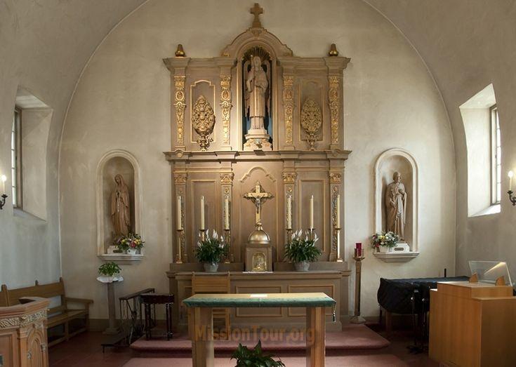 Altar Area Of Mission San Rafael, California
