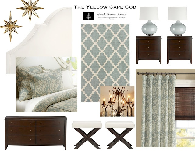 The Yellow Cape Cod Custom Room Designs Brown Leather