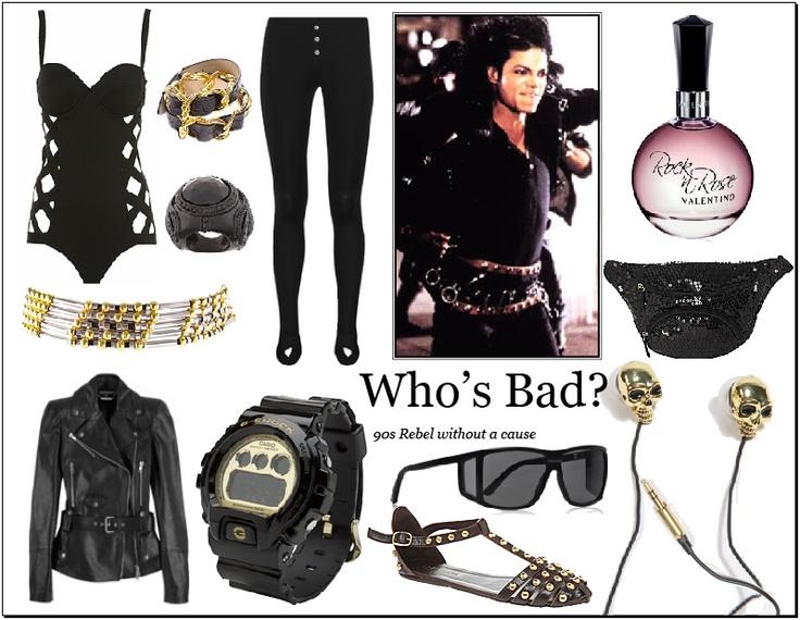"Michael Jackson's ""Bad"" Look"