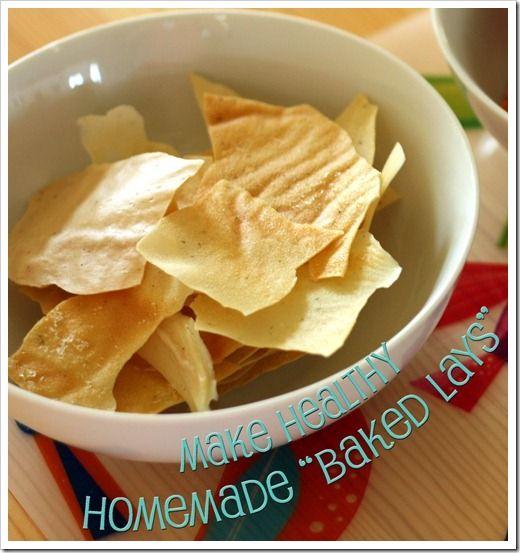 "Homemade ""Baked Lay's"" Potato Chips–But Better!"