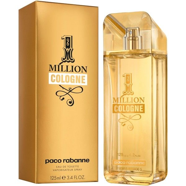 Paco Rabanne 1 Million Eau De Cologne 125ml ($85) ❤ liked on Polyvore featuring beauty products, fragrance, cologne fragrance, paco rabanne cologne, paco rabanne, paco rabanne perfume and paco rabanne fragrance