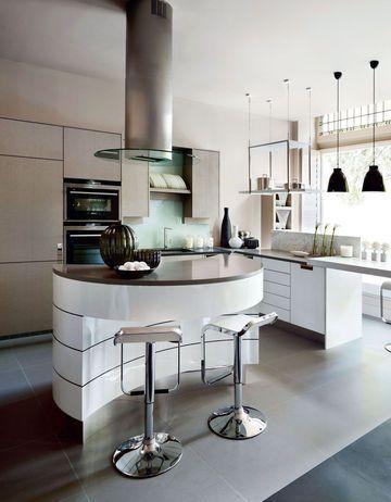 Design anglais dans l'espace cuisine