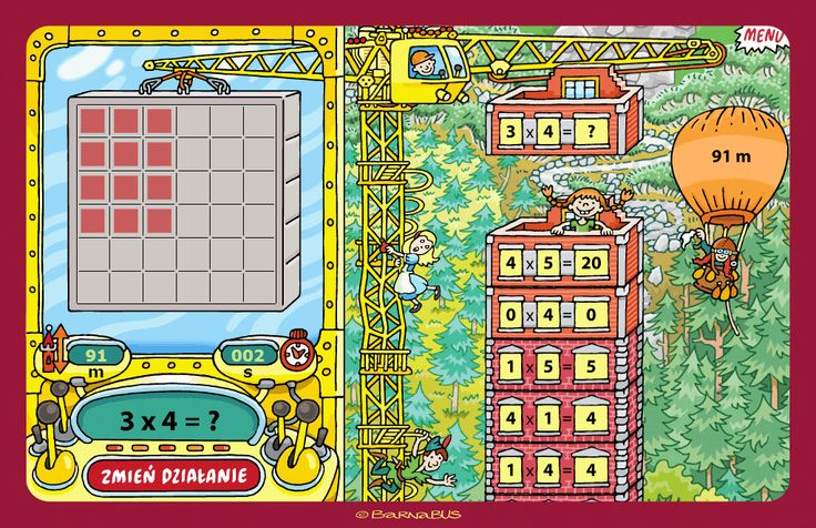 © Barnabus - #Gra edukacyjna ▪ Educational #game MathTower - screen 04.