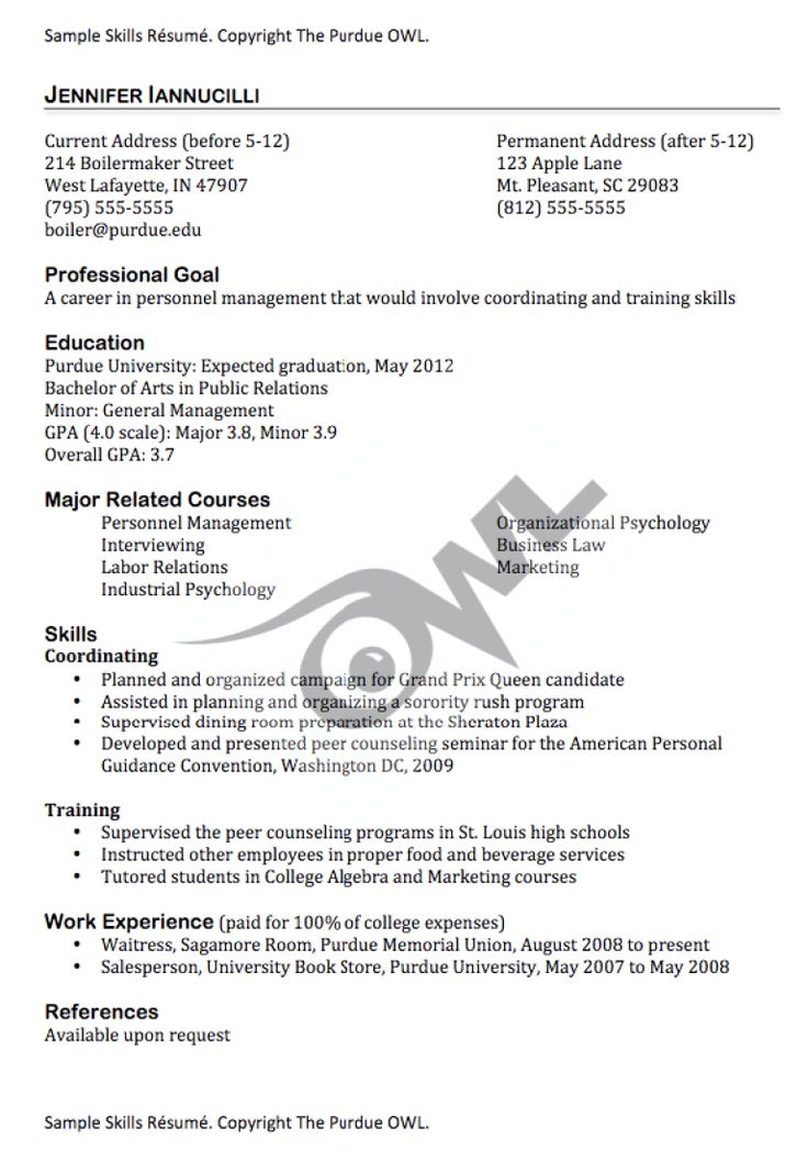 Sample resume skills FREE RESUME SAMPLE Resume skills