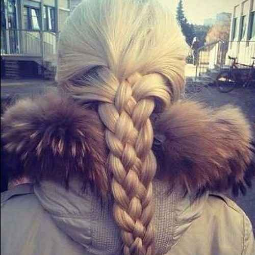The end result should look something like this.... | 23 Creative Braid Tutorials That Are Deceptively Easy