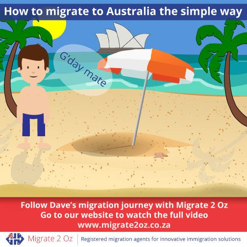 Follow Dave's Journey Dave is enjoying his new life in Australia – you could too. Find out how he got there by watching this video: http://bit.ly/1Xyz6w2