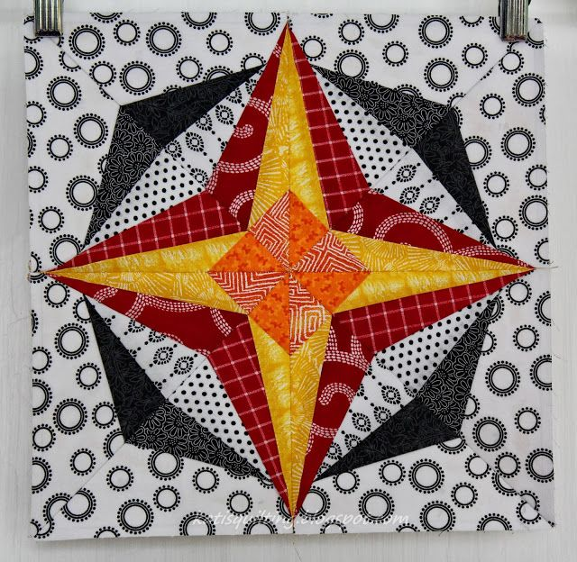 August - Pinwheel Star
