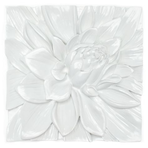White Flower Wall Decor 98 best ceramic flowers images on pinterest | ceramic flowers
