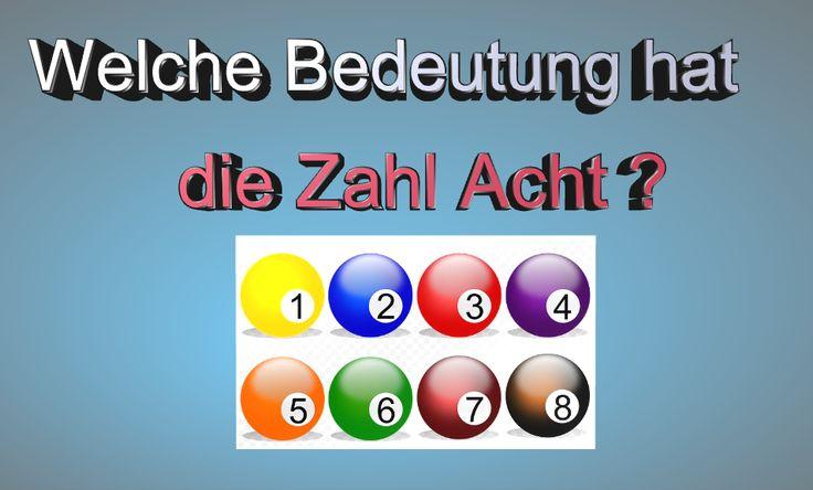 Bildquelle: 422737/ https://pixabay.com/de/billardkugel-billard-spiel-461196/   Die Acht, die lacht. Numerologie ist die Lehre von den Zahlen und ihrer Bedeutung. Was bedeutet die Acht in der Zahlensymbolik? Mehr Text >> s. Webseite unten.