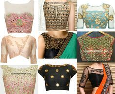Boat Neck Blouse Designs: Top 10 Boat Neck Patterns