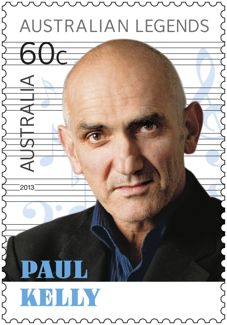 Thank you Australian Music Legend #paulkelly #auspost #stamps