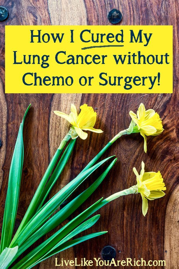 Natural Small Cell Lung Cancer Cures