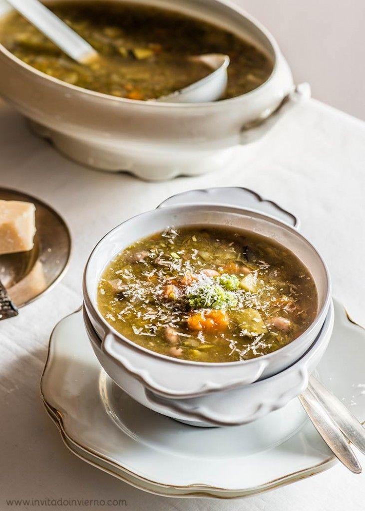 sopa minestrone by Miriam Garcia